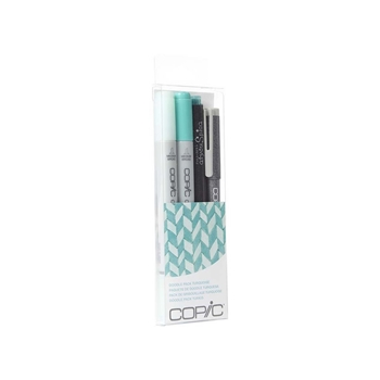 Copic DOODLE PACK TURQUOISE Set 053850