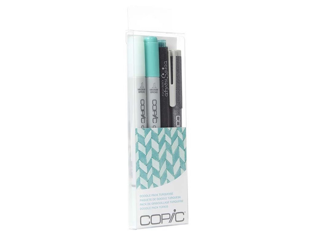 Copic DOODLE PACK TURQUOISE Set 053850 zoom image