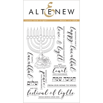 Altenew LOVE AND LIGHT Clear Stamp Set ALT1878