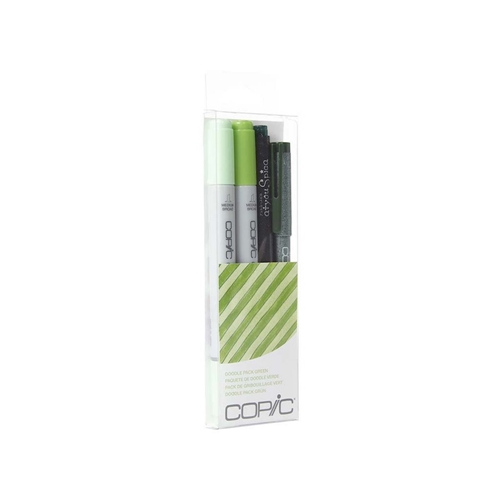 Copic DOODLE PACK GREEN Set 053867 Preview Image