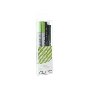 Copic DOODLE PACK GREEN Set 053867