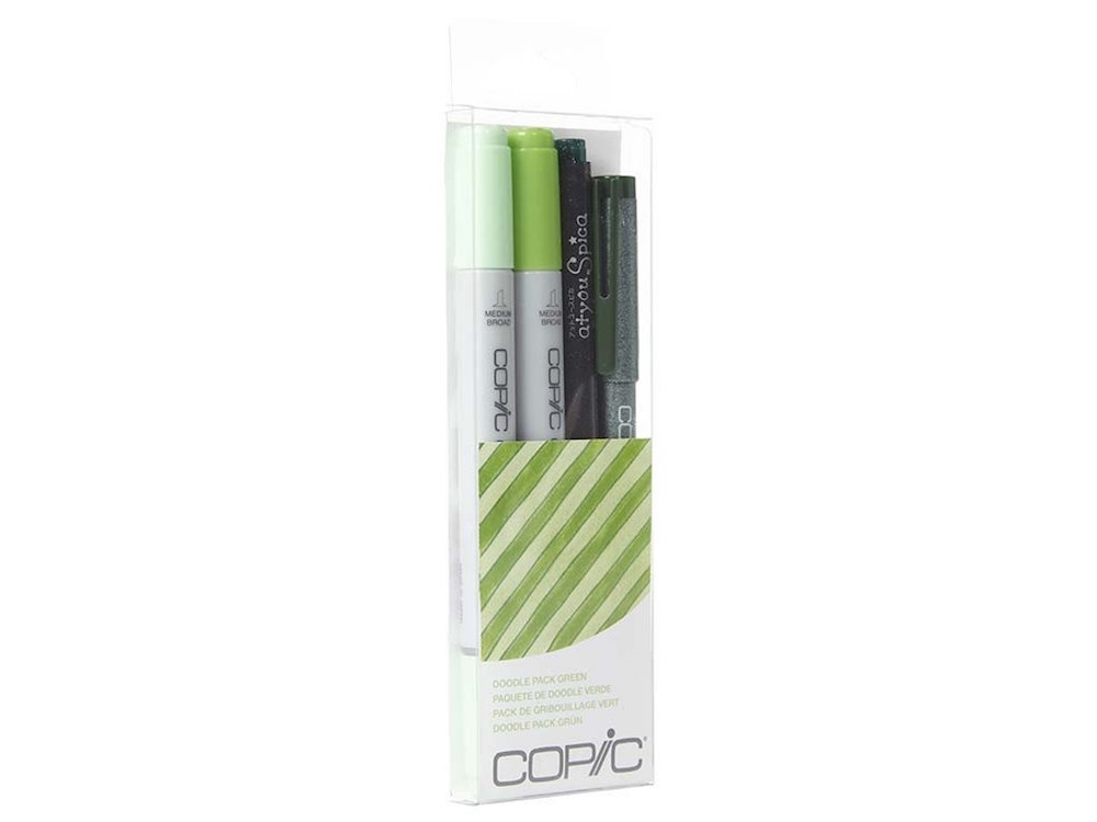 Copic DOODLE PACK GREEN Set 053867 zoom image