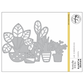 Pinkfresh Studio HOUSEPLANTS Die Set PFSA0317
