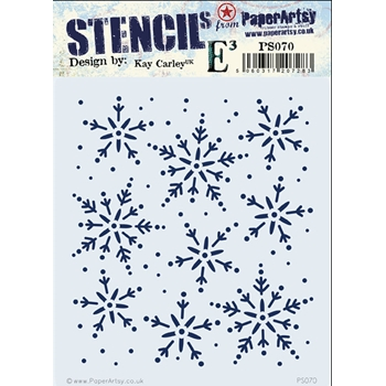 Paper Artsy ECLECTICA3 KAY CARLEY Stencil PS070