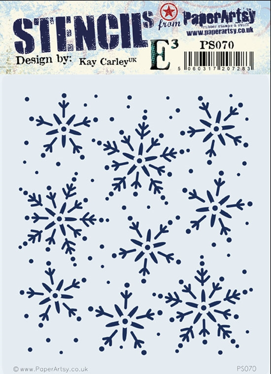 Paper Artsy ECLECTICA3 KAY CARLEY Stencil PS070 zoom image