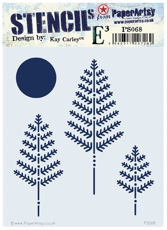 Paper Artsy ECLECTICA3 KAY CARLEY Stencil PS068* zoom image