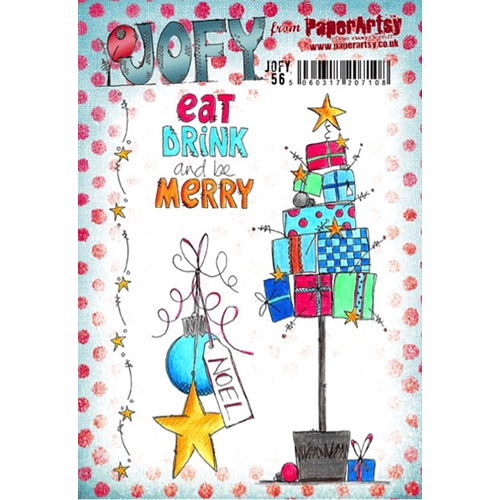 Paper Artsy JOFY 56 Rubber Cling Stamp JOFY56 Preview Image