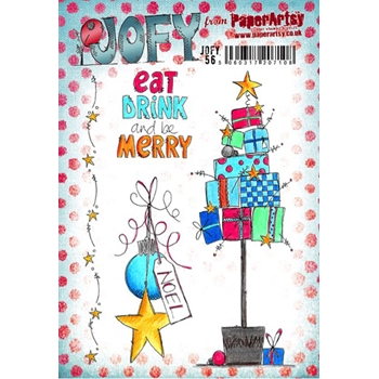 Paper Artsy JOFY 56 Rubber Cling Stamp JOFY56