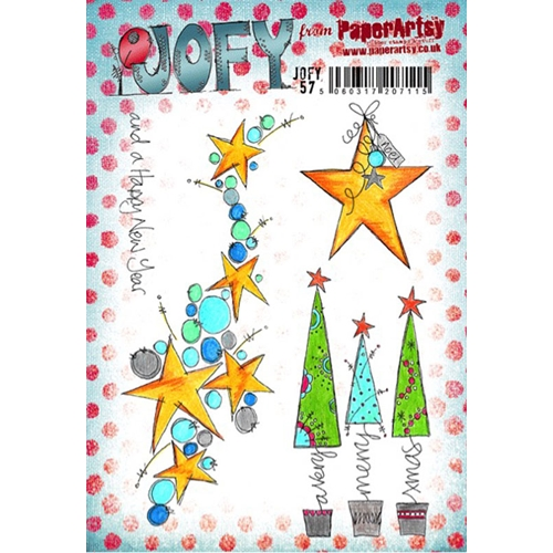 Paper Artsy JOFY 57 Rubber Cling Stamp JOFY57 Preview Image