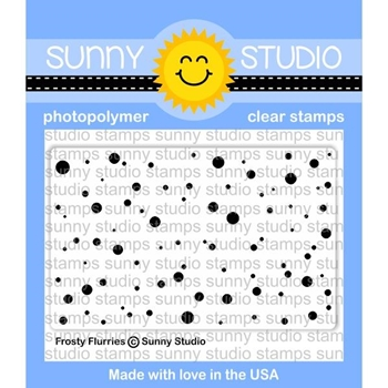 Sunny Studio FROSTY FLURRIES Clear Stamp Set SSCL-179
