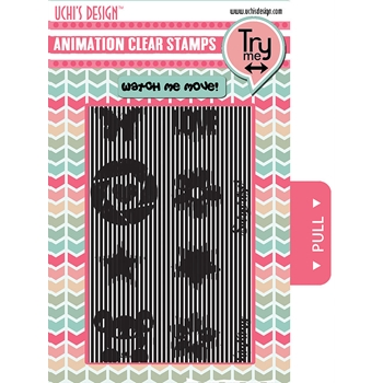 Uchi's Design ESSENTIALS Animation Clear Stamps AS10