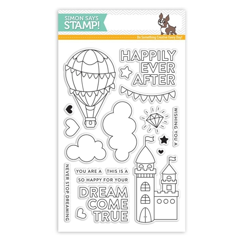 Simon Says Clear Stamps DREAM COME TRUE SSS101807 Preview Image