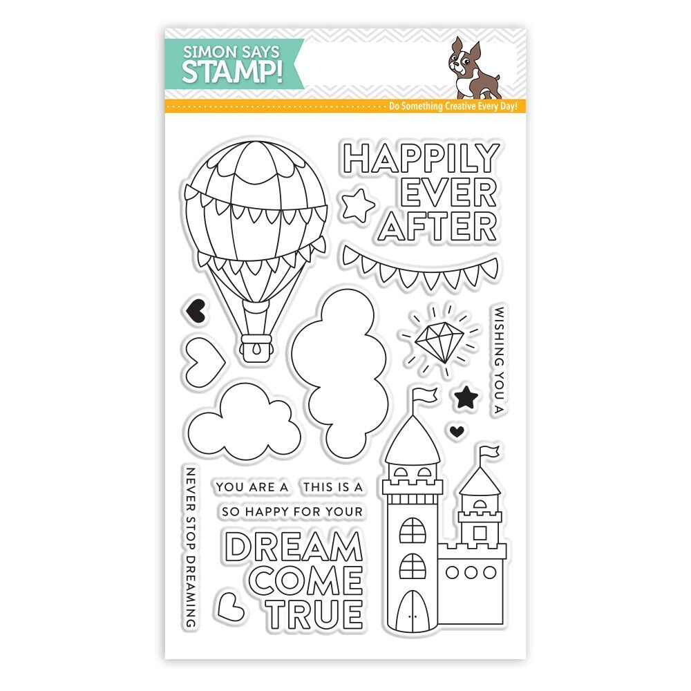Simon Says Clear Stamps DREAM COME TRUE