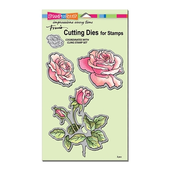 Stampendous ROSE GARDEN DIE CUT SET DCS5101
