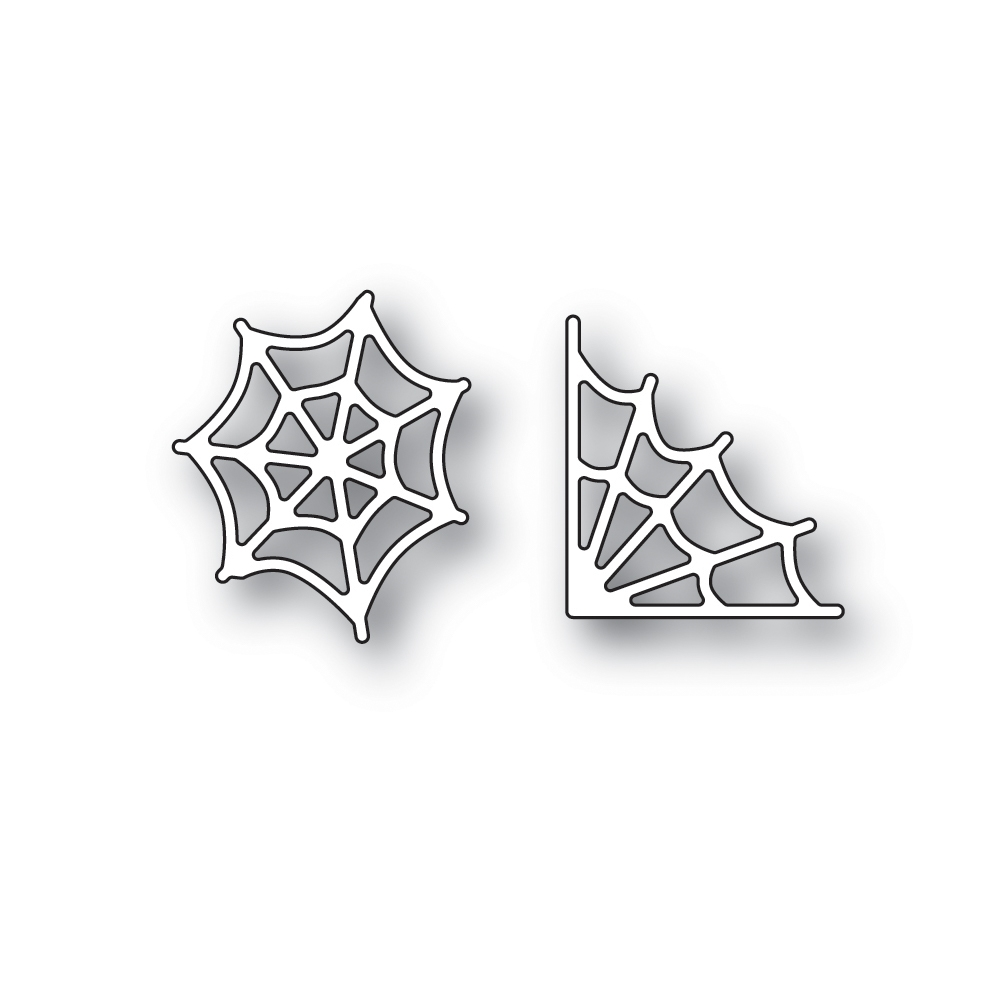 Simon Says Stamp SMALL SPIDER WEBS Wafer Dies