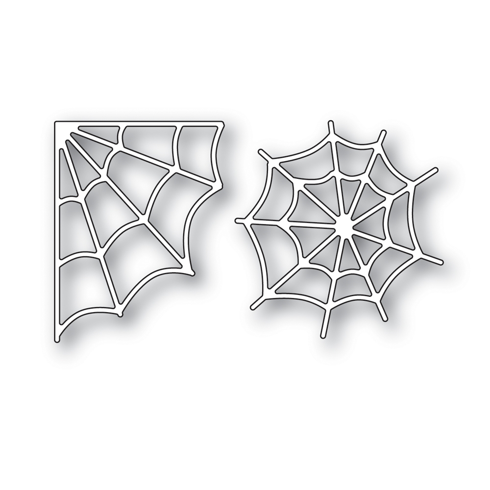 Simon Says Stamp SPOOKY SPIDER WEBS Wafer Dies