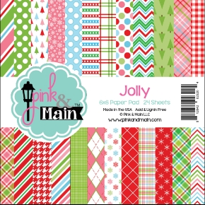 Pink and Main 6x6 JOLLY Paper Pad 023204