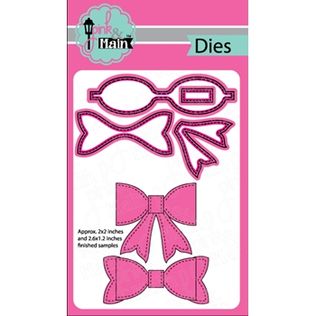Pink and Main LARGE BOW Die Set 023563
