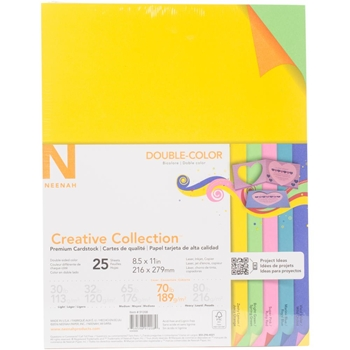 Neenah DOUBLE-COLOR 70 LB Creative Collection Premium Cardstock 91208