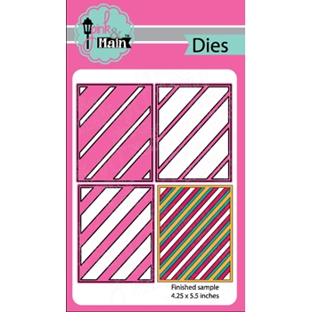 Pink and Main LAYERED STRIPES Die Set 023594