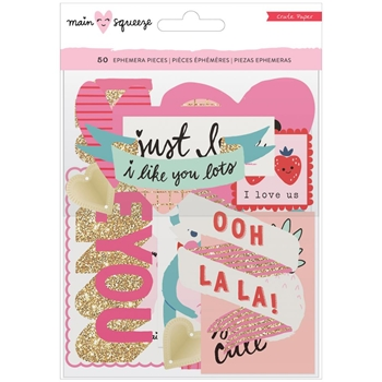 Crate Paper MAIN SQUEEZE Ephemera Pack 379177