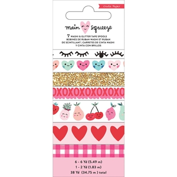 Crate Paper MAIN SQUEEZE Washi Tape Set 344291