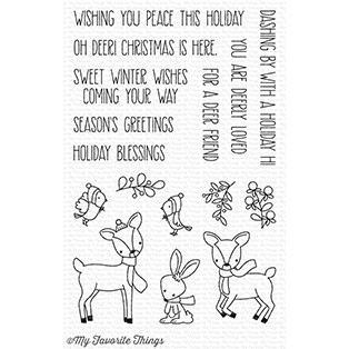 My Favorite Things DASHING DEER Clear Stamps CS238