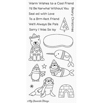 My Favorite Things POLAR PALS Clear Stamps CS236
