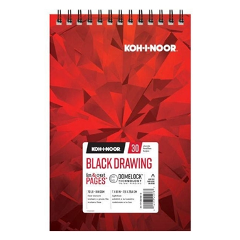 KOH-I-NOOR BLACK DRAWING 7x10 Paper 26170220612
