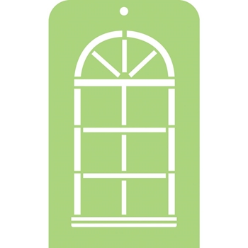Kaisercraft ARCH WINDOW Mini Designer Template IT024