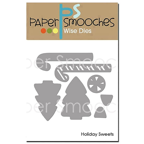Paper Smooches HOLIDAY SWEETS Wise Dies OCD409 Preview Image