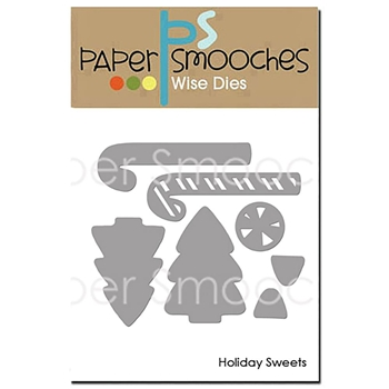 Paper Smooches HOLIDAY SWEETS Wise Dies OCD409