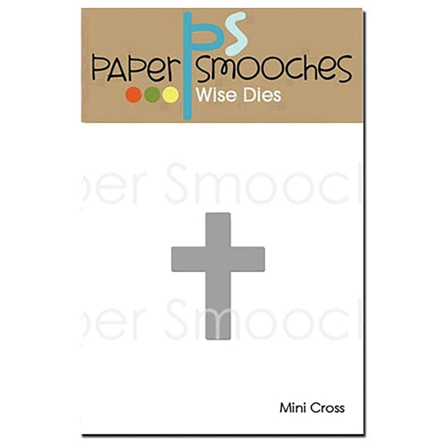 Paper Smooches MINI CROSS Wise Die OCD411 Preview Image