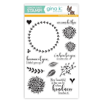 Gina K Designs WE CAN DO THIS Clear Stamps SSS101806