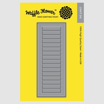 Waffle Flower A2 WINDOW SHUTTERS Die Set 310171