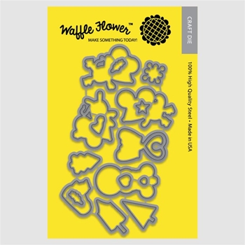 Waffle Flower COLD HANDS Die Set 310165