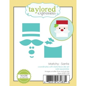 Taylored Expressions MATCHY SANTA Die Set TE1159