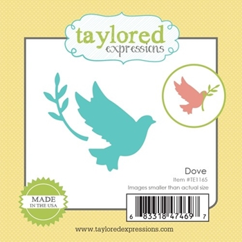 Taylored Expressions Little Bits DOVE Die Set TE1165