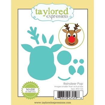 Taylored Expressions REINDEER POP Die Set TE1153