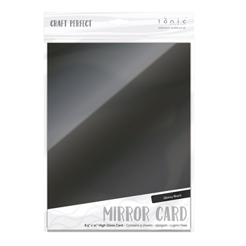 Tonic BLACK Mirror Card Gloss Cardstock 9459E