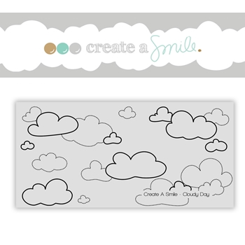 Create A Smile CLOUDY DAY Cling Stamp CGCS11