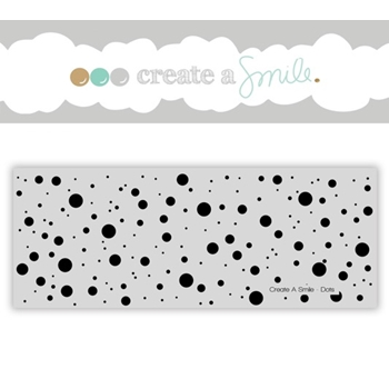 Create A Smile DOTS Cling Stamp CGCS13
