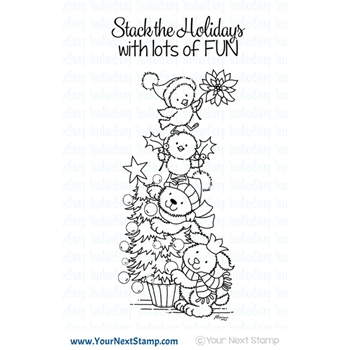 Your Next Stamp A CUTE HOLIDAY STACK Clear CYNS600