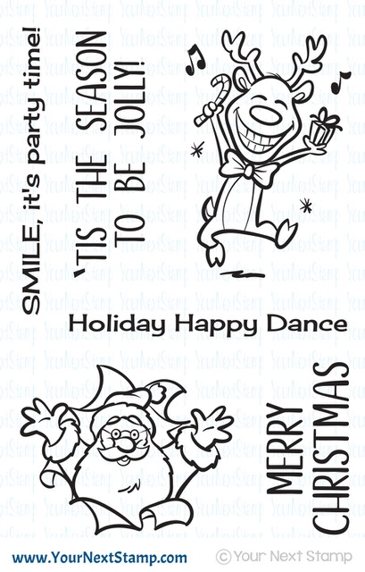 Your Next Stamp Be Jolly Clear Stamp Set