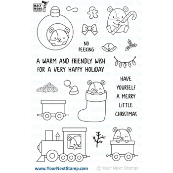 Your Next Stamp HAMMIE HOLIDAY FUN Clear CYNS612