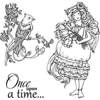 ScrapBerry's ONCE UPON A TIME Clear Stamps 4904009B