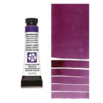 Daniel Smith QUINACRIDONE PURPLE 5ML Extra Fine Watercolor 284610225