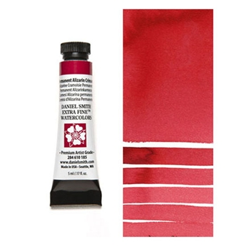 Daniel Smith PERMANENT ALIZARIN CRIMSON 5ML Extra Fine Watercolor 284610185