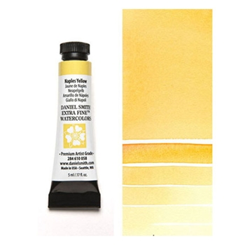 Daniel Smith NAPLES YELLOW 5ML Extra Fine Watercolor 284610058