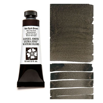 Daniel Smith VAN DYCK BROWN 15ML Extra Fine Watercolor 284600110